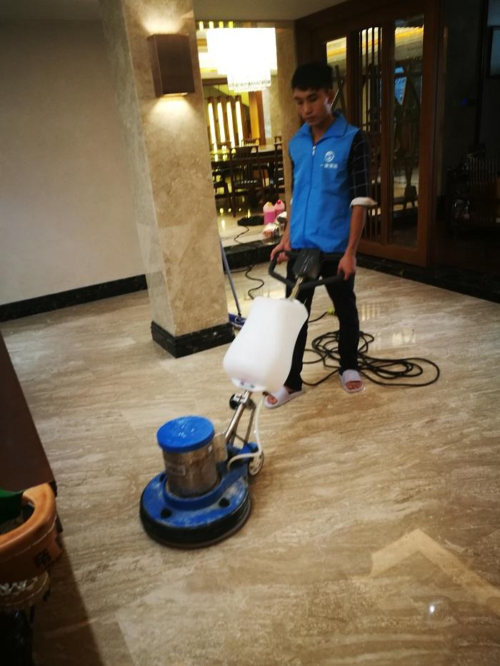 大理石石材保养翻新养护-首选广州一谦清洁专业护理