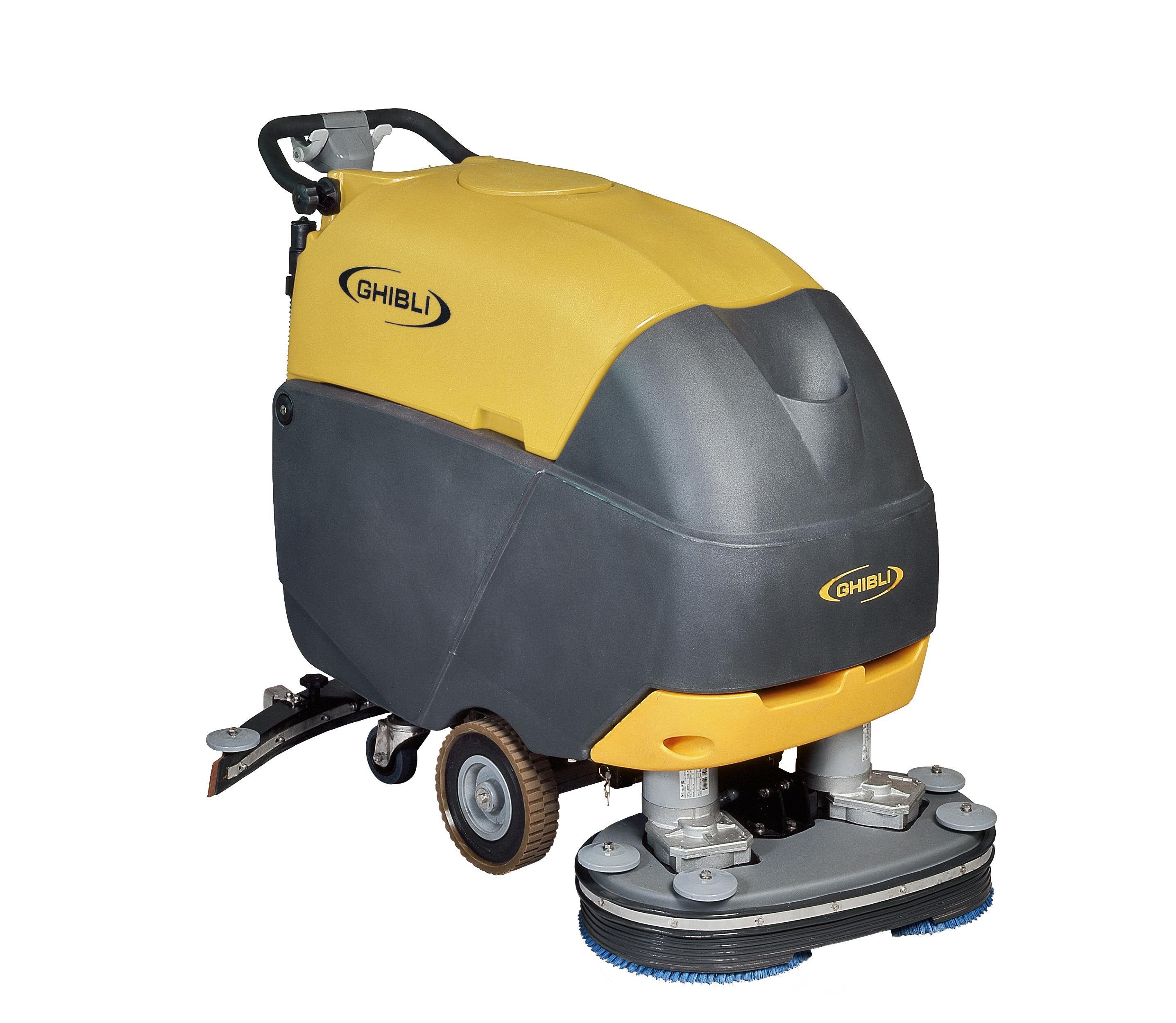 推式洗地机