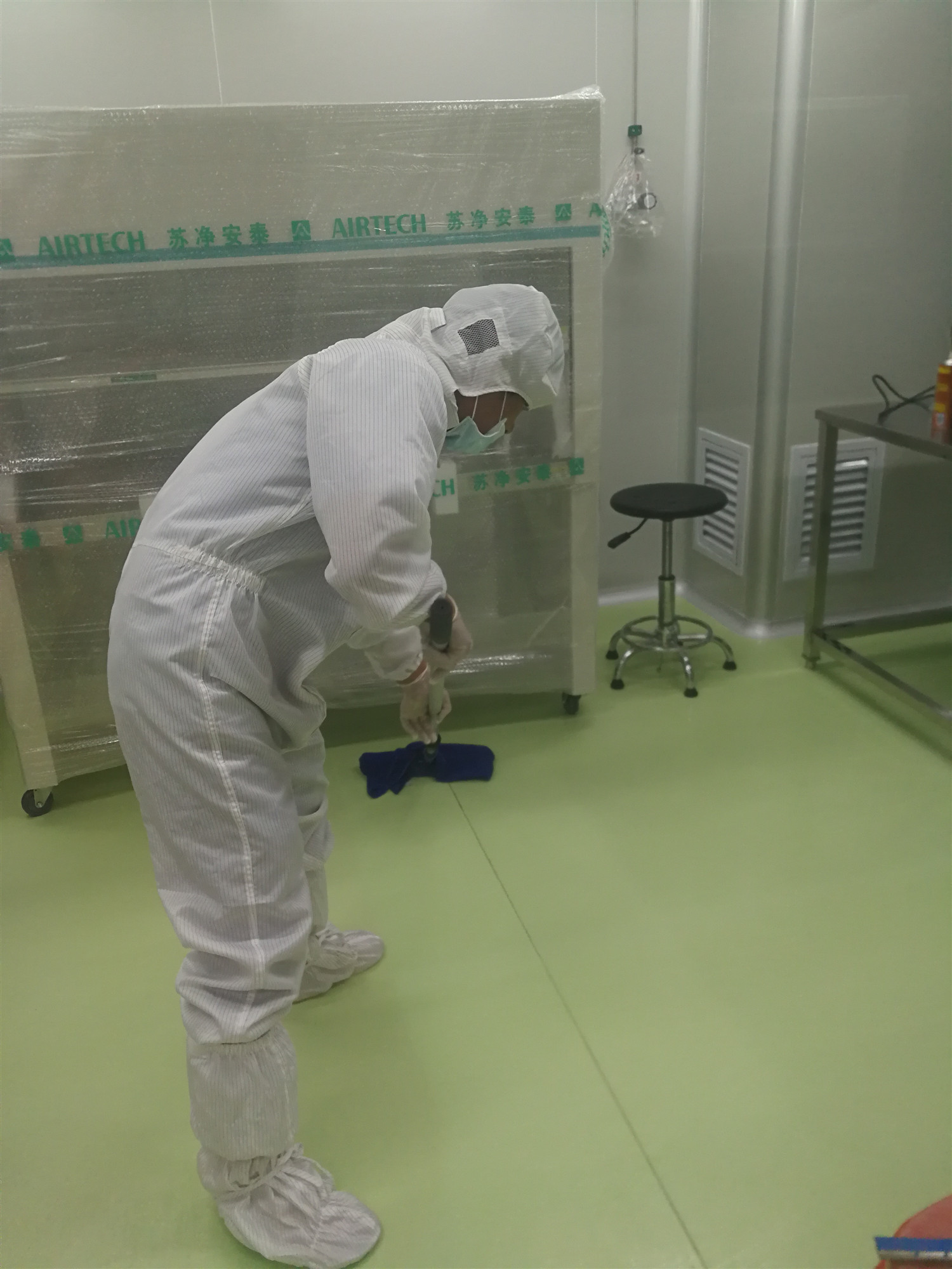 达瑞生物科技实验室万级保洁
